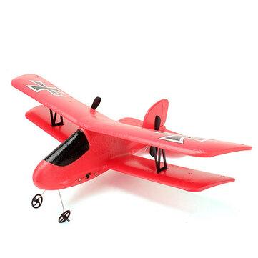 Flybear FX-808 2.4G 2CH EPP Micro Indoor Parkflyers RC Biplane RTF