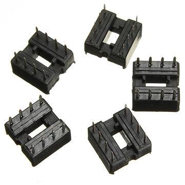 250pcs 2.54mm 8 Pin IC DIP Integrated Circuit Sockets Adaptor