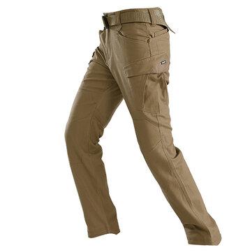 488 9921 आउटडोर सामरिक पैंट पुरुषों के पहनने वाले प्रतिरोधी मल्टी पॉकेट सैन्य प्रशिक्षण पैंट