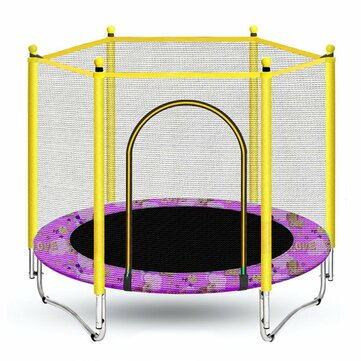 Mini Round Indoor Trampoline Child Playing Jumping Bed Enclosure Pad Exercise Tools for sale in Litecoin with Fast and Free Shipping on Gipsybee.com