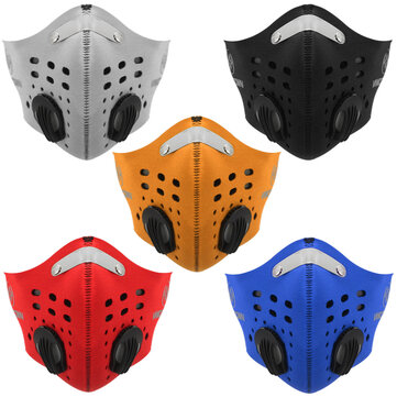 BIKIGHT Face Mask Half Anti Dust Pollution Filter for Sport Cycling Motorcycle
