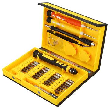 MECA 38Stücker Schraubenzieher Reparatur Satz Kit für DIY Werkzeuge Satz