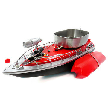 Flytec 3 Generations Electric Fishing Bait RC Boat 300m Remote Fish Finder With Searchlight Toys