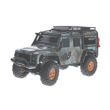 HB Toys ZP1001 1/10 2.4G 4WD Rc Car Proportional Control Retro Vehicle w/ LED Light RTR