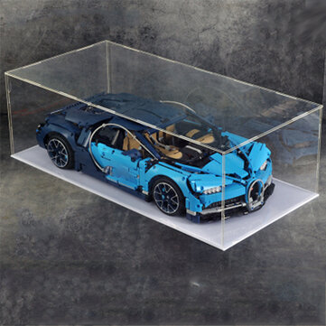 DIY Acrylic Display Case For LEGO 42056 42096 42083 911 RSR Technic Bugatti Chiron for sale in Bitcoin, Litecoin, Ethereum, Bitcoin Cash with the best price and Free Shipping on Gipsybee.com
