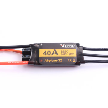 VGOOD 40A 2-6S 32-Bit Brushless ESC With 5A SBEC for Fixed Wing RC Airplane