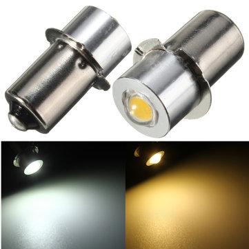 P13.5S PR2 LED Bulb Senter 1W Interior Sepeda Torch Spot Penggantian Bulb DC3-18V