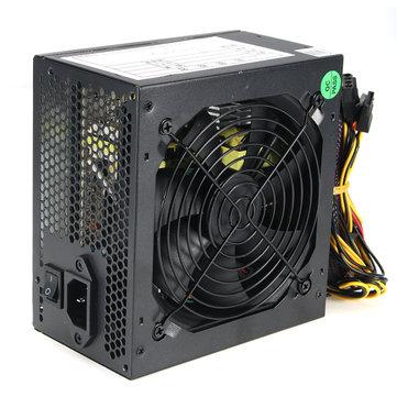 550W 120mm Fan ATX SATA PCI-E Power Supply for Intel...
