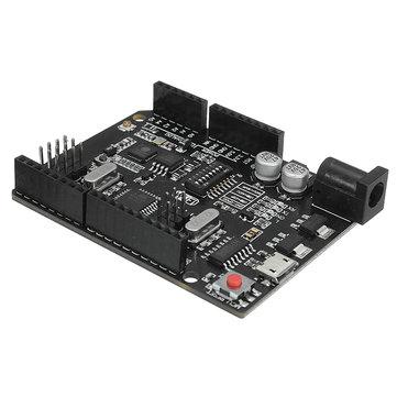 UNO+WiFi R3 ATmega328P+ESP8266 Module 32Mb Memory USB-TTL CH340G Compatible For Arduino