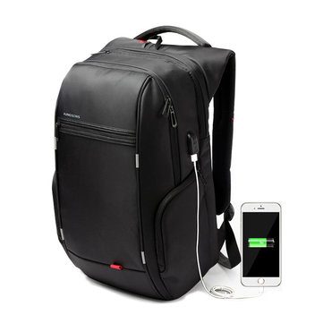 887bb4cc9 KINGSONS Men Women 13/15/17 Inches Computer Bag Anti Theft Travel Backpack  with
