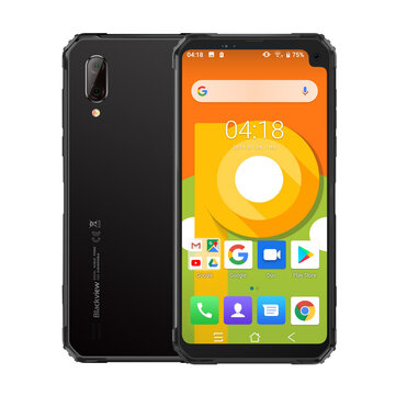 BLACKVIEW BV6100 6.88 inch IP68 5580mAh NFC Android 9.0 Waterproof Dustproof Shockproof 3GB 16GB Helio A22 Quad Core 4G Smartphone