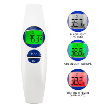 FR800 Non Contact Thermometer Digital Lcd Display Body Object Infrared Detector Multipurpose