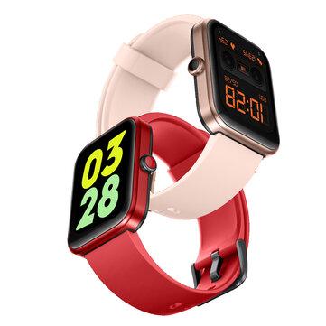 [Built_in Alexa] Doogee CS2 Pro 1.69 inch Touch Screen BT5.0 Heart Rate Blood Oxygen Monitor 14 Sport Modes Custom Dial 5ATM Waterproof Smart Watch