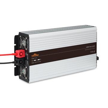 Topshak TS-PI1 50HZ Inverter Intelligent Screen Solar Pure Sine Wave Power Inverter 3000W/4000W/5000W/6000W DC 12V/24V To AC 220V Converter