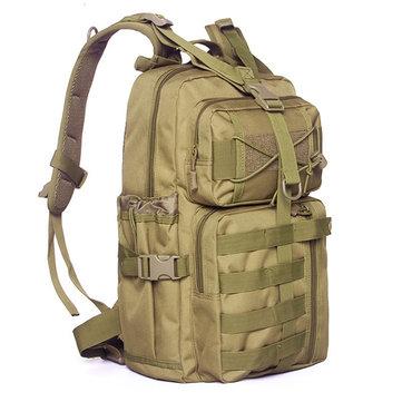 גברים Nylon תכליתי רב תכליתי קיבולת תיק גב טקטי נסיעות בחוץ כתף תיק