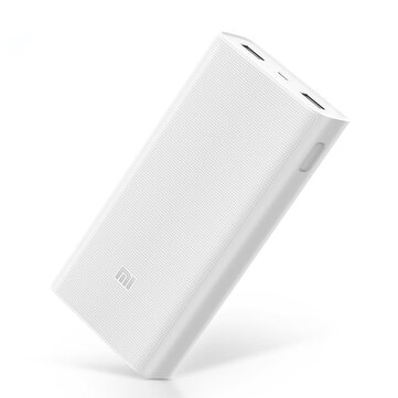 Original Xiaomi 2C 20000mAh Quick Charge 3.0 Polymer Power Bank 2 Dual USB Output