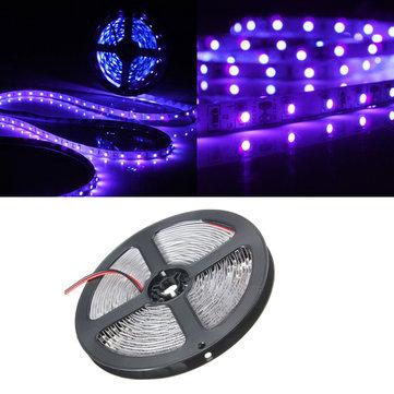 0,5 / 1/2/3/4 / 5M SMD3528 Lilla Ikke Vandtæt Fleksibel LED Strip Lampe Lys DC12V