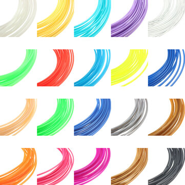 8 Colors x 10M 1.75mm Universal ABS Filament For 3D Printer