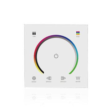 LUSTREON DC12-24V Dokunmatik Panel Renk Değiştirme Işık Anahtarı Dimmer Kontrolörü RGBW LED Şerit için