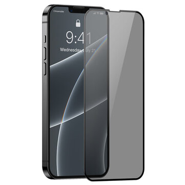 How can I buy Baseus 2PCS for iPhone 13 Mini/ 13/ 13 Pro/ 13 Pro Max Front Film 9H Anti Explosion Anti Peeping Full Coverage Tempered Glass Screen Protector with Bitcoin