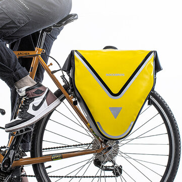 ROCKBROS 20L 100% Waterproof Bicycle Bags & Panniers MTB Road Bike Bags Rear Rack Long Haul Cycling Shelf Bag Trunk Bag Bike Accessories for sale in Bitcoin, Litecoin, Ethereum, Bitcoin Cash with the best price and Free Shipping on Gipsybee.com