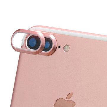 Kamerabeskyttelsesfilm for beskyttelse mot riper, metallring for iPhone 7 Plus 5.5 Inch