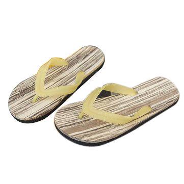 Summer Men Women Casual Stripes High Elastic Clip Feet Beach Cool Slippers Flip Flops