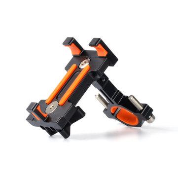 XANES BH01 AL6061-T6 Bicycle Phone Holder Bracket voor telefoon GPS Apparaat tot 6,5 inch antislip schokbestendig
