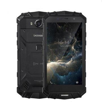 DOOGEE S60  5.2インチ シャープ IP68 6GB RAM 64GB ROM  MTK Helio P25 Octa Core  2.5GHz  5580mAh  4Gスマートフォン