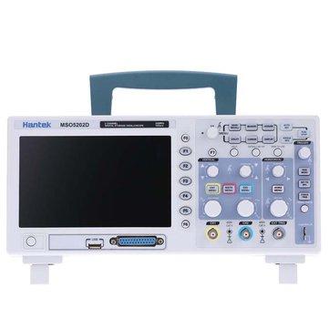 Hantek MSO5202D 2 in 1 Digital Oscilloscope 200MHz 2 แชนเนล 1GSa / s + 16 ช่องวิเคราะห์ลอจิก