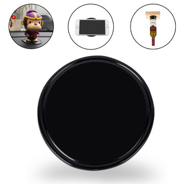 Round Silica Gel Magic Sticky Pad Cellphone Anti Slip Non Slip Mat Protective Case for Mobile Phone