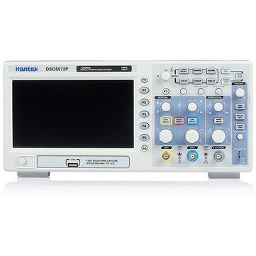Hantek DSO5072P Digital Storage Oscilloscope 70MHz 2Channels 1GSa / s 7inch TFT LCD