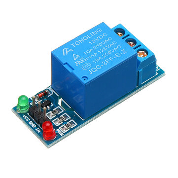 1 Channel 12V Relay Module dengan Optocoupler Isolation Relay High Level Trigger Untuk Arduino