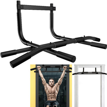 Buy Multifunction Pull-Up Bar Chin-Up Wall Mounted Training Home Door Horizontal Bar Workout Exercise Tools with Litecoins with Free Shipping on Gipsybee.com
