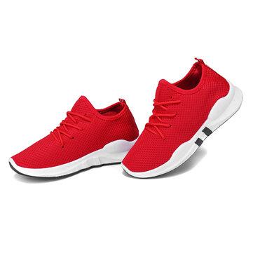 Calzado deportivo atlético para mujer al aire libre Zapatillas deportivas para correr, transpirables y transpirables