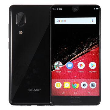 SHARP AQUOS S2 (C10) Versão Global 5.5 Polegadas FHD + NFC Android 8.0 4GB RAM 64GB ROM Snapdragon 630 Octa Núcleo 2.2GHz 4G Smartphone
