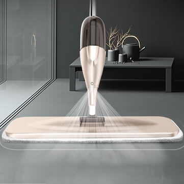 Buy Water Spray Mop Household Flat Mop Floor Cleaner 360 Rotate Spin Head Dust Clean for Home Kitchen Laminate Wood Ceramic Tiles Floor Cleaning with Litecoins with Free Shipping on Gipsybee.com