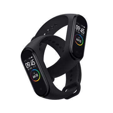 Original Xiaomi Mi band 4 AMOLED Color Screen Wristband bluetooth 5.0 5ATM Long Standby Smart Watch International Version