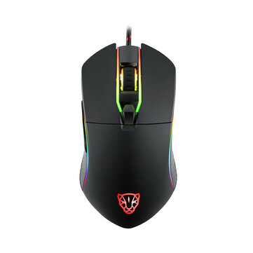 MOTOSPEED V30 Catamount 3500DPI RGB Backlit 6 Buttons Wired Gaming Mouse