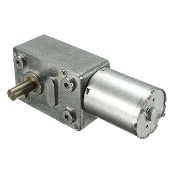 DC 12V 0.6rpm Reversible High torque Turbo Worm Gear Motor GW370 DC Reducer Motor