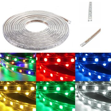 20m 5050 Led Smd Outdoor Waterproof Flexible Tape Rope Strip Light Xmas 220v