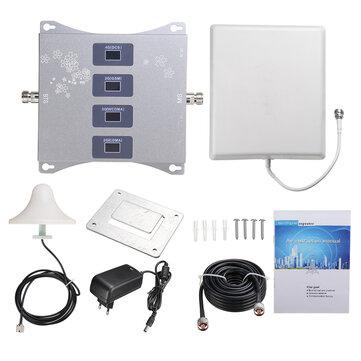 TX BG E9361 Signal Booster Home Mobile Network Signal Amplifier 4 Band 1W 4g Mobile Network Booster