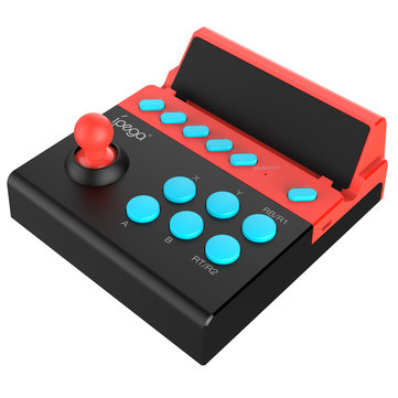 iPega PG-9135 bluetooth Turbo Gamepad Game Controller Fight Stick for iOS Android Mobile Phone Tablet Analog Fighting Game