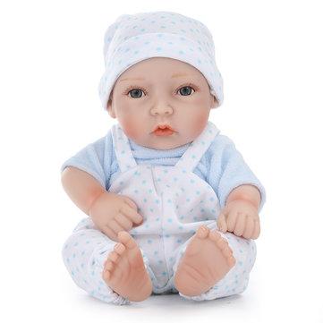 11inch Handmade Reborn Baby Doll Lifelike Realistic Newborn Boy Toy Play House Toys