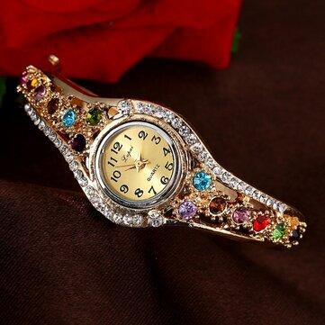 Đồng hồ đeo tay nữ thời trang LVPAI XR1959 Đồng hồ đeo tay rhinestone