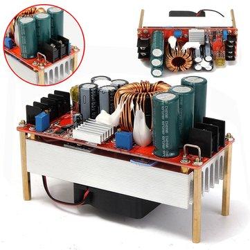 DC10-60V 30A 1500W a 12-90V Boost Converter aumentar Módulo de fuente de alimentación