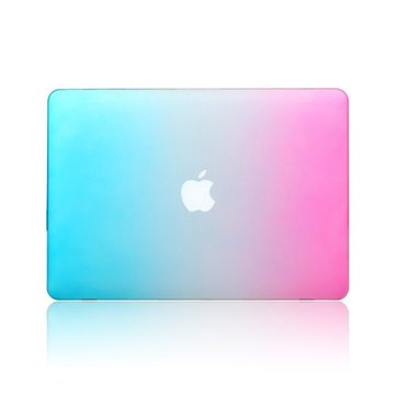Fashion Rainbow Colorful Beskyttende Shell Laptop Deksel Deksel For Apple MacBook Pro 15,4 tommer
