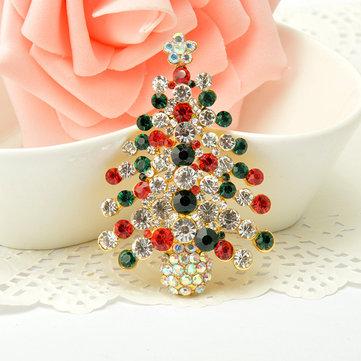 Giáng sinh rhinestone trâm cài quà Giáng sinh