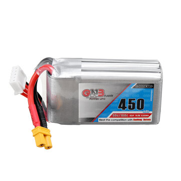 Gaoneng 14.8V 450mAh 80C 4S Lipo Battery XT30U-F Plug for Beta95X V2 X-Knight 3inch Toothpick Whoop