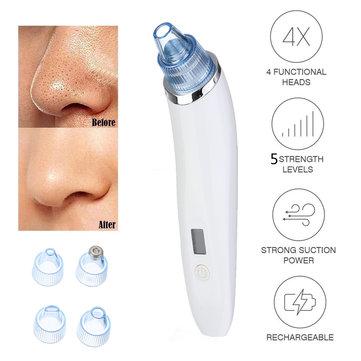 Electric Blackhead Vacuum Acne Cleaner Pore Remover Skin